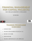 Financial Management for Capital Projects