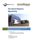 Developing the Transportation, Distribution and Logistics Sector - Detroit Regional Chambe