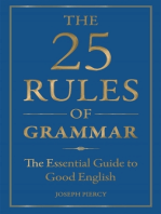 The 25 Rules of Grammar