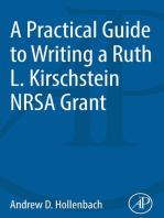 A Practical Guide to Writing a Ruth L. Kirschstein NRSA Grant