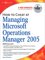 How to Cheat at Managing Microsoft Operations Manager 2005