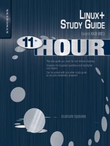 Eleventh Hour Linux+: Exam XK0-003 Study Guide