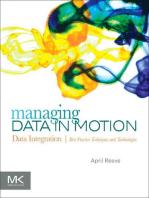 Managing Data in Motion