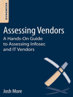 Assessing Vendors: A Hands-On Guide to Assessing Infosec and IT Vendors