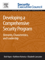 Developing a Comprehensive Security Program