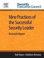Nine Practices of the Successful Security Leader