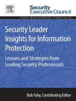 Security Leader Insights for Information Protection
