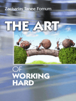The Art Of Working Hard