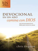 Devocional en un año -- Camina con Dios: 365 lecturas diarias de la Biblia para renovar tu mente