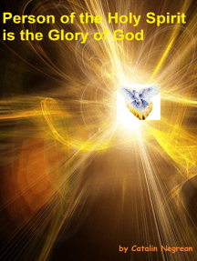 Person of the Holy Spirit is the Glory of God