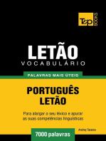 Vocabulário Português-Letão