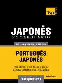 Vocabulário Português-Japonês: 5000 palavras mais úteis