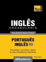 Vocabulário Português-Inglês britânico