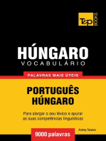 Vocabulário Português-Húngaro