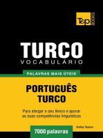 Vocabulário Português-Turco