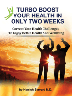 Turbo Boost Your Health In Only Two Weeks