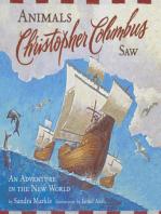 Animals Christopher Columbus Saw