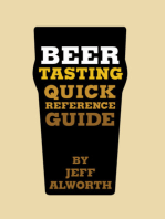 Beer Tasting Quick Reference Guide