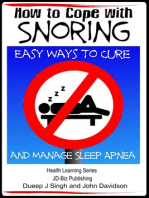 How to Cope with Snoring