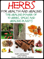 Herbs for Health and Healing