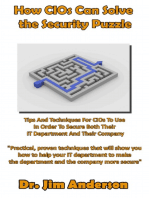 How CIOs Can Solve the Security Puzzle