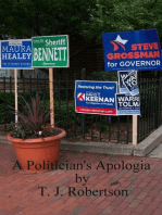 A Politician's Apologia
