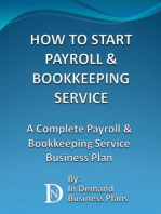 How To Start A Payroll & Bookkeeping Service