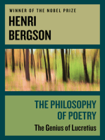 The Philosophy of Poetry: The Genius of Lucretius