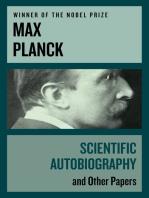 Scientific Autobiography
