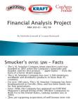 Financial Analysis - Kraft Foods