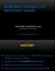 Case Study on Bad Study Loans