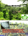 Corporate Social Responsibility - Green Marketing