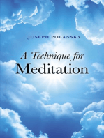 A Technique for Meditation