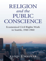 Religion and the Public Conscience