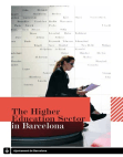 Project Report on Higher Education Sector - Barcelona