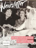 Nshei Chabad Newsletter: Tishrei- September Edition - 5775 / 2014