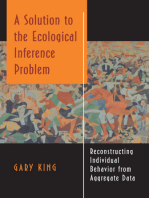 A Solution to the Ecological Inference Problem