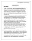 Customer Reletionship Management In Banks