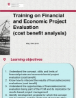 Financial and Economic Project Evaluation