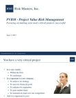 Project on Value Risk Management