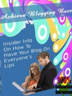 Achieve Blogging Buzz