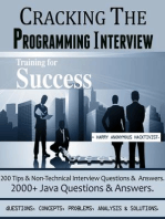 CRACKING THE PROGRAMMING INTERVIEW