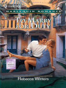 To Marry For Duty by Rebecca Winters - Read Online