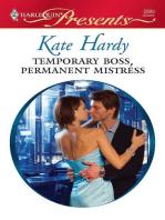 Temporary Boss, Permanent Mistress