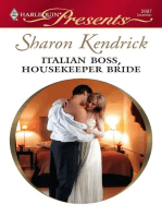 Italian Boss, Housekeeper Bride