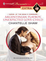 Argentinian Playboy, Unexpected Love-Child