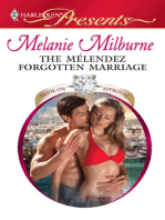 The Mélendez Forgotten Marriage