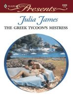 The Greek Tycoon's Mistress