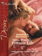 Miss Pruitt's Private Life