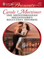 The Mediterranean Millionaire's Reluctant Mistress